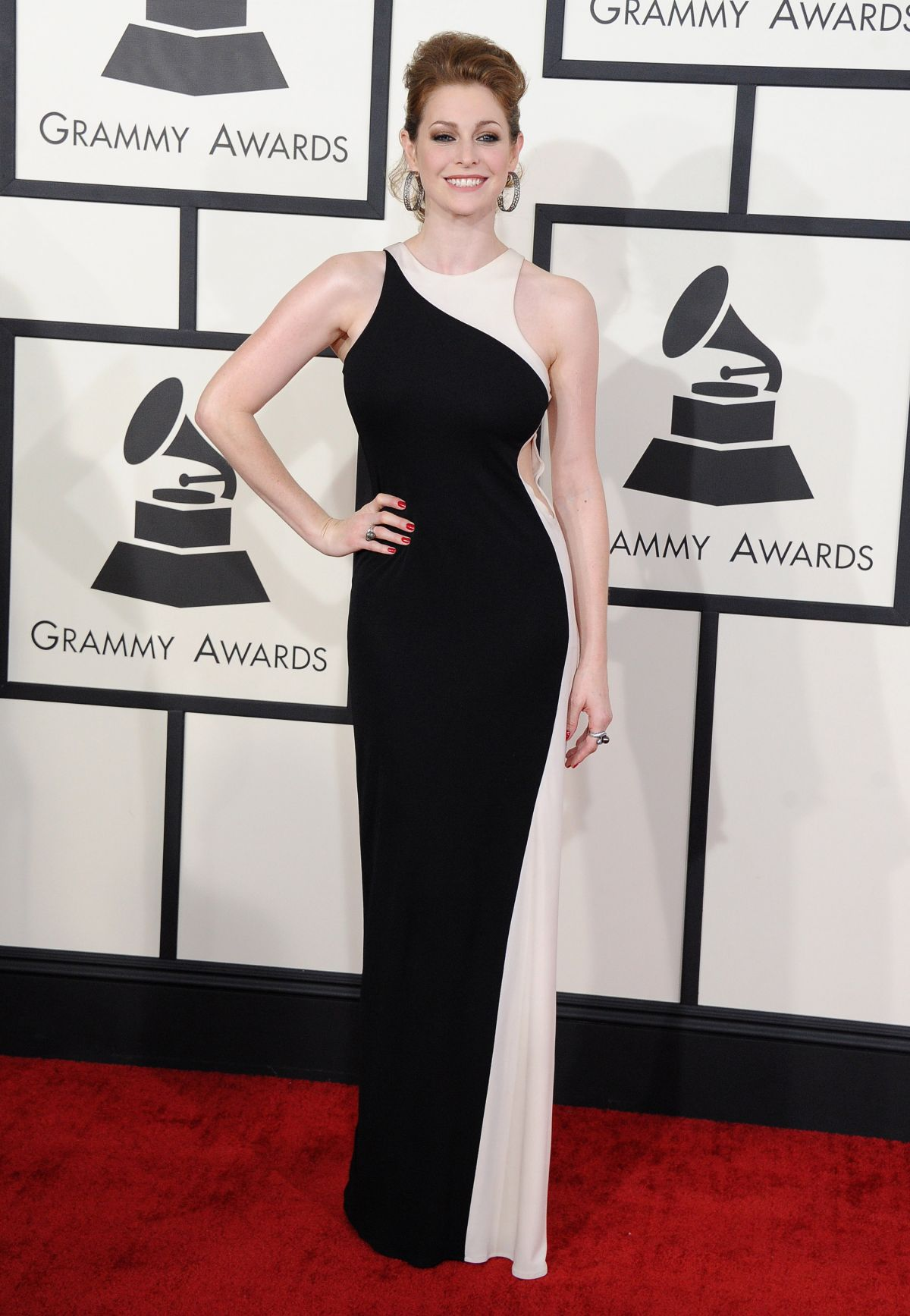 ESME BIANCO at 2014 Grammy Awards in Los Angeles