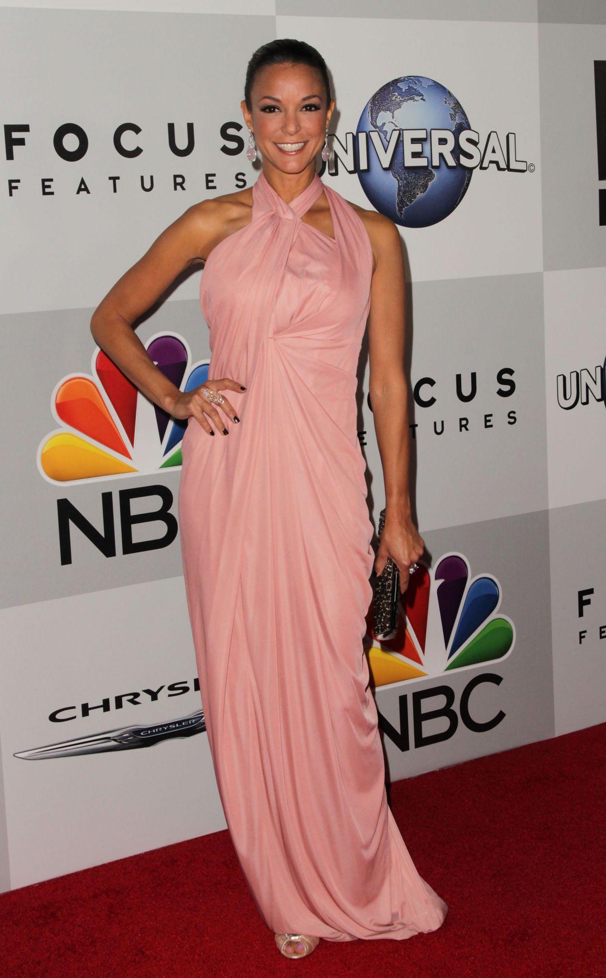 EVA LARUE at NBC Universal's Golden Globe Aster Party