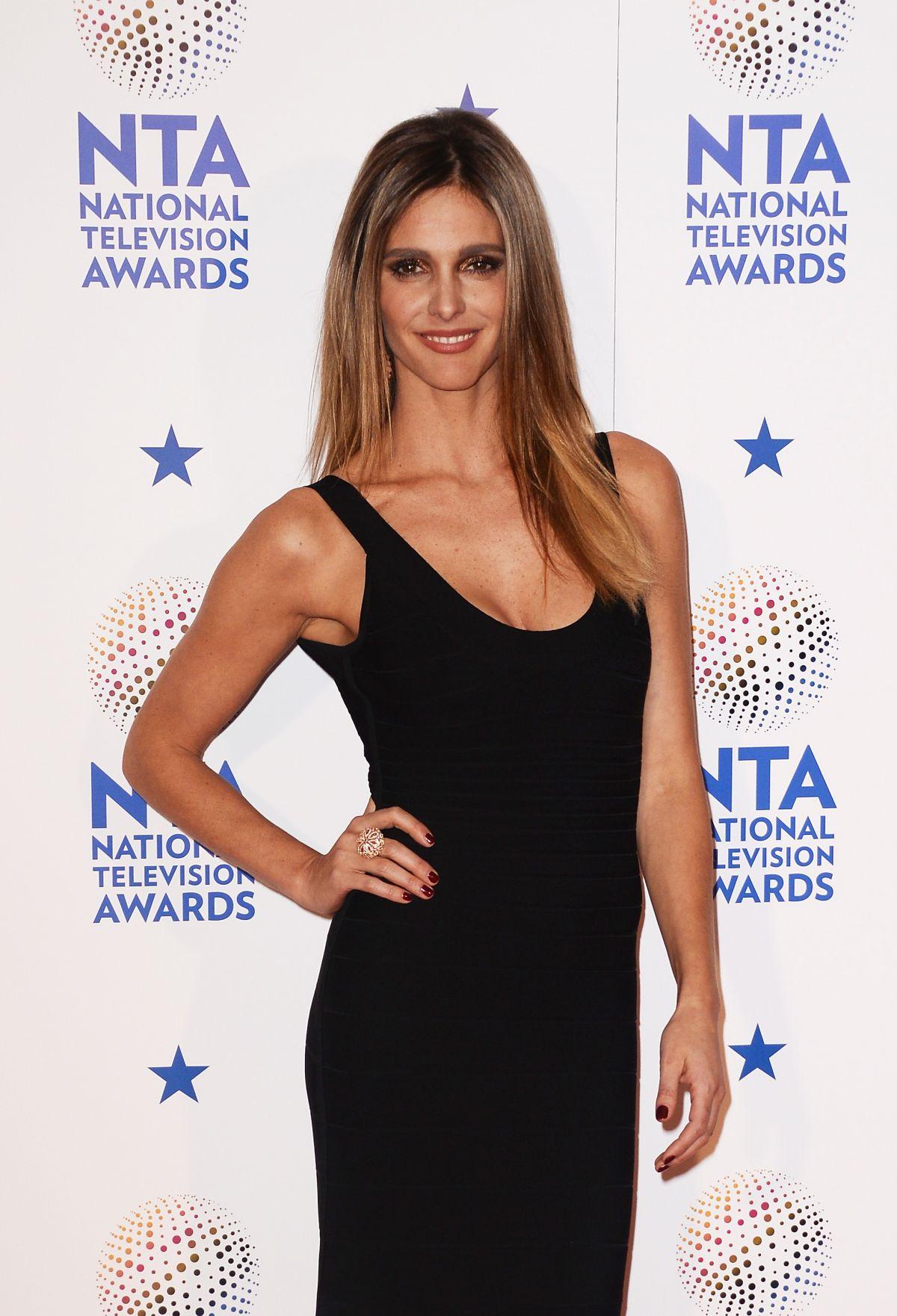 FERNANDA LIMA at 2014 National Television Awards in London