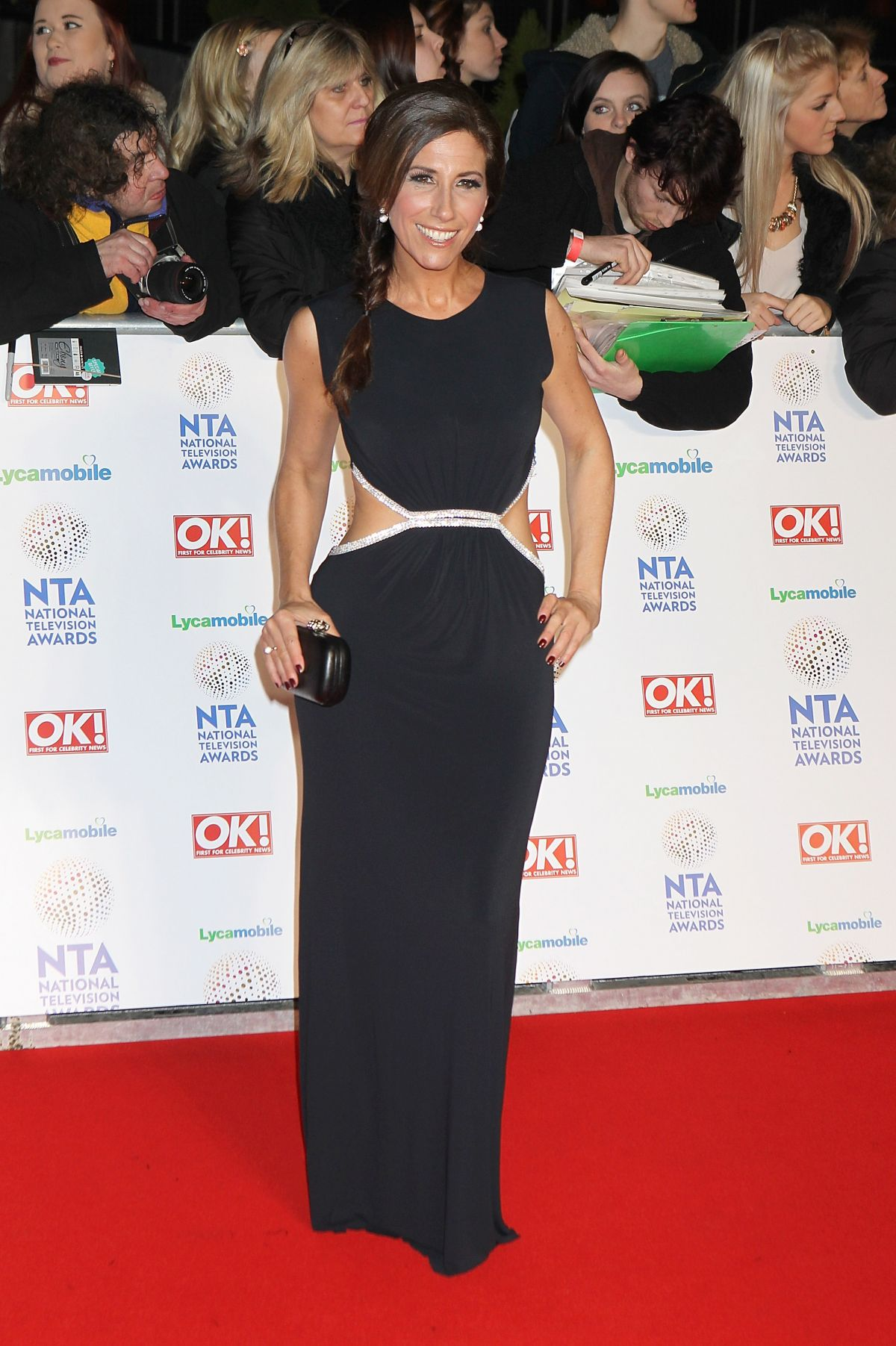 GAYNOR FAYE at 2014 National Television Awards in London