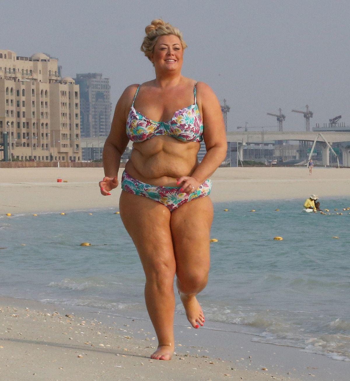 Gemma Collins In Bikini In Dubai Hawtcelebs