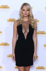 GENEVIEVE MORTON at SI Swimsuit Issue 50th Anniversary Celebration in Hollywood
