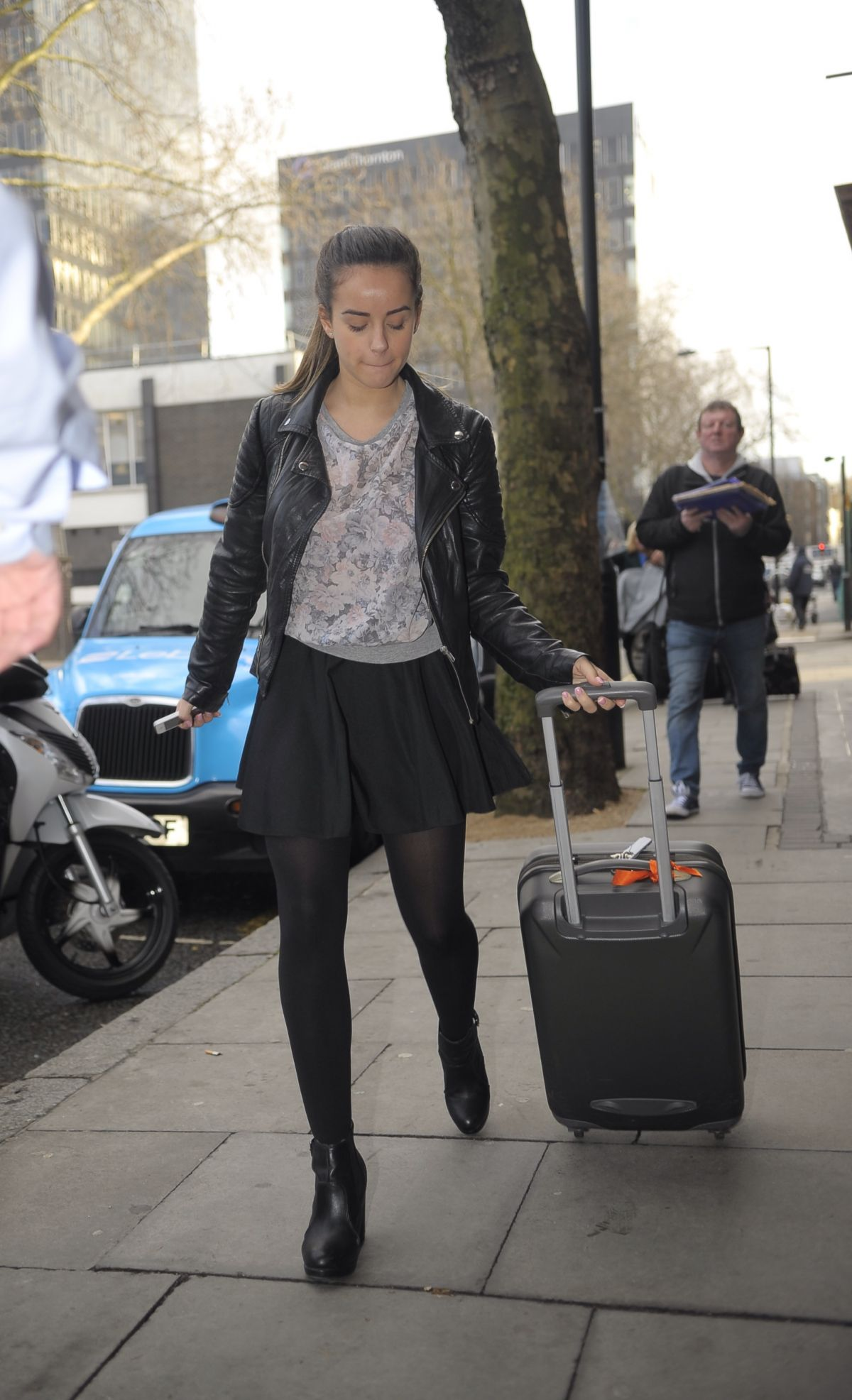 GEORGIA MAY FOOTE Out and About in Manchester