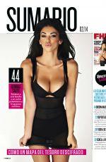 GEORGIA SALPA in FHM Magazine, Spain February 2014 Issue