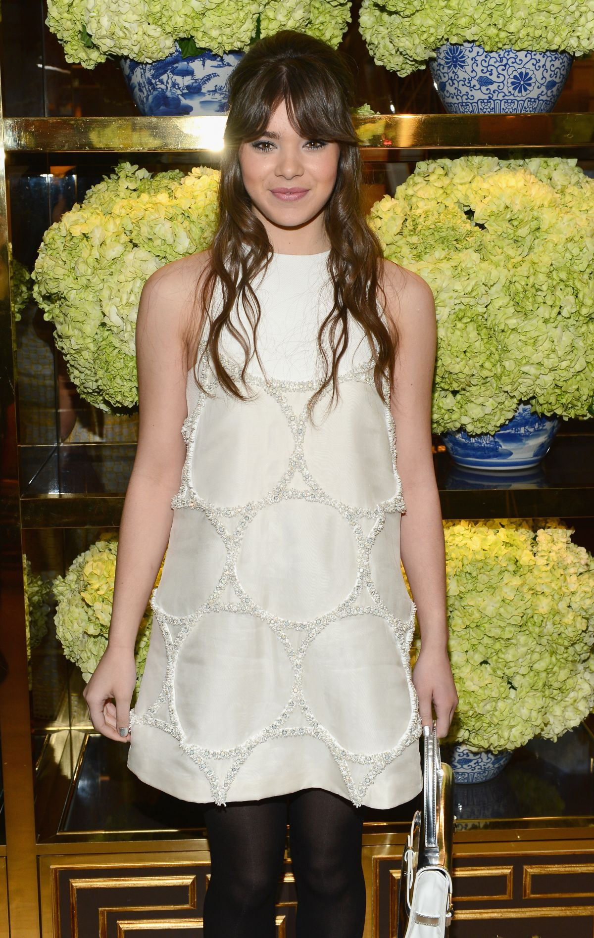 HAILEE STEINFELD at Tory Burch Rodeo Drive Flagship Opening in Beverly Hills