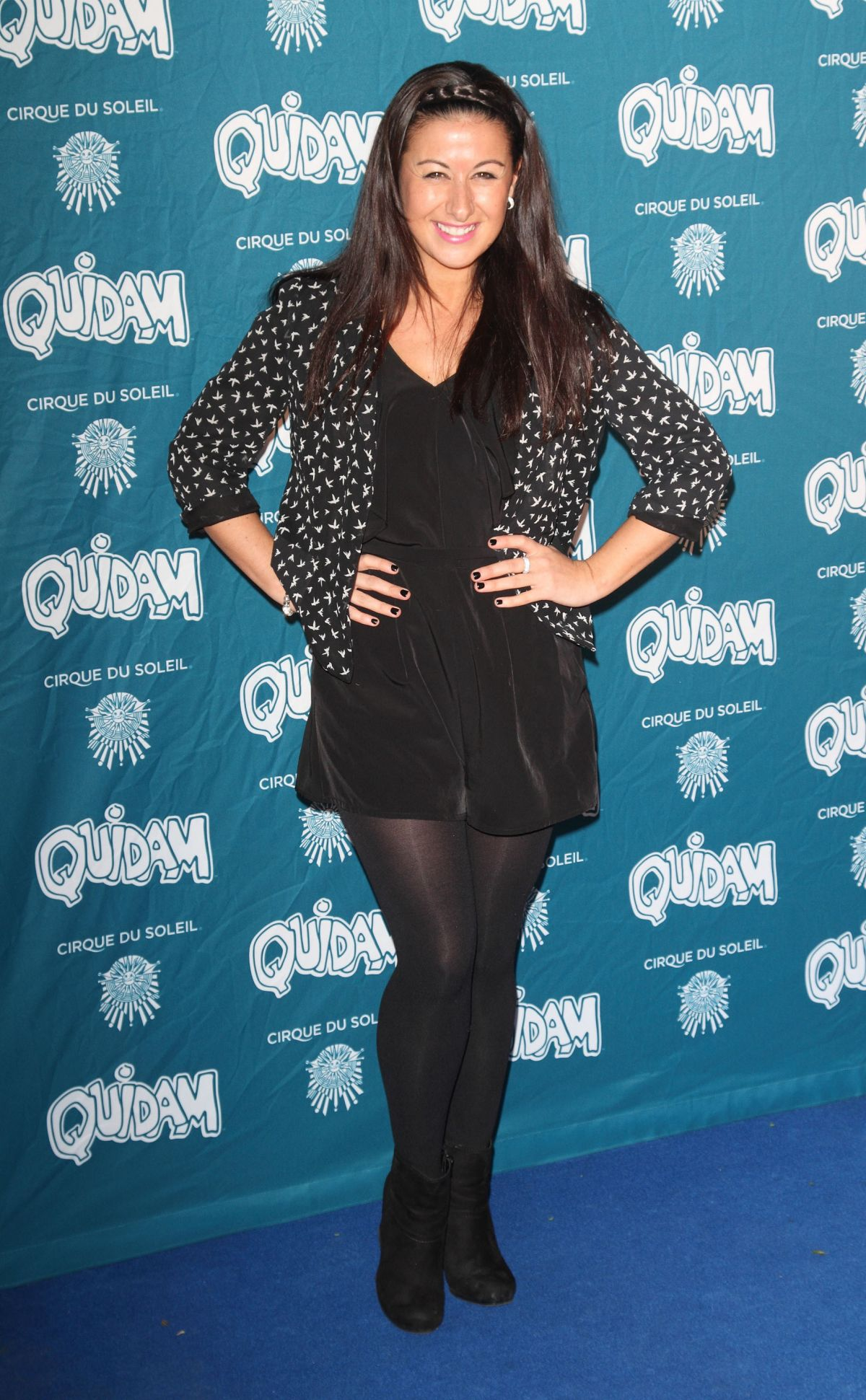 HAYLEY TAMADDON at Cirque du Soleil: Quidam Opening Night in London