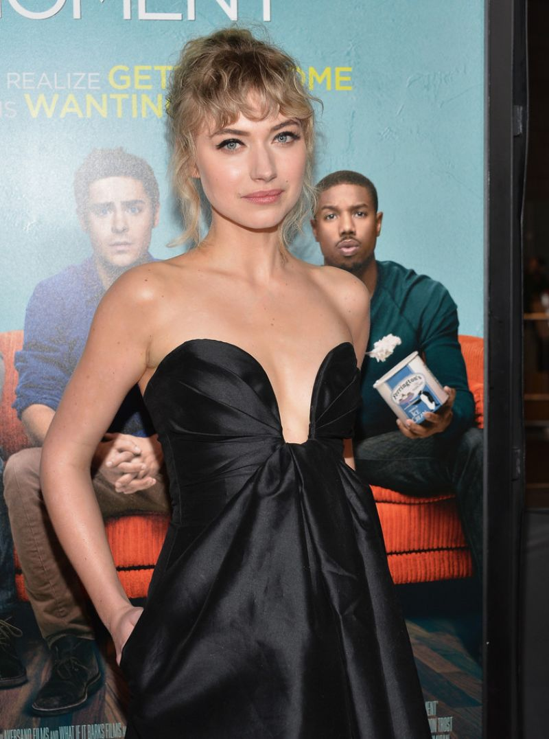 IMOGEN POOTS at That Awkward Moment Premiere in Los Angeles