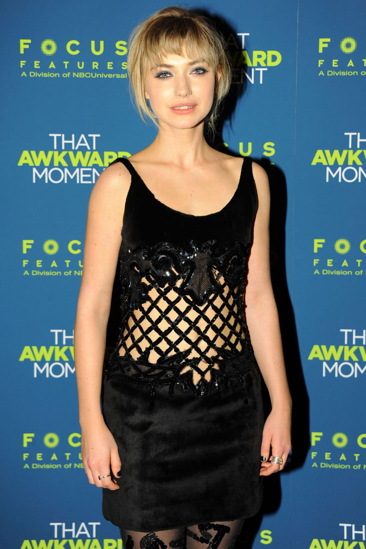 IMOGEN POOTS at That Awkward Moment Premiere in New York