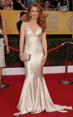 Isla Fisher at 20th Annual Screen Actors Guild Awards in Los Angeles