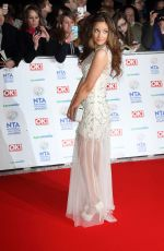 JACQUELINE JOSSA at 2014 National Television Awards in London