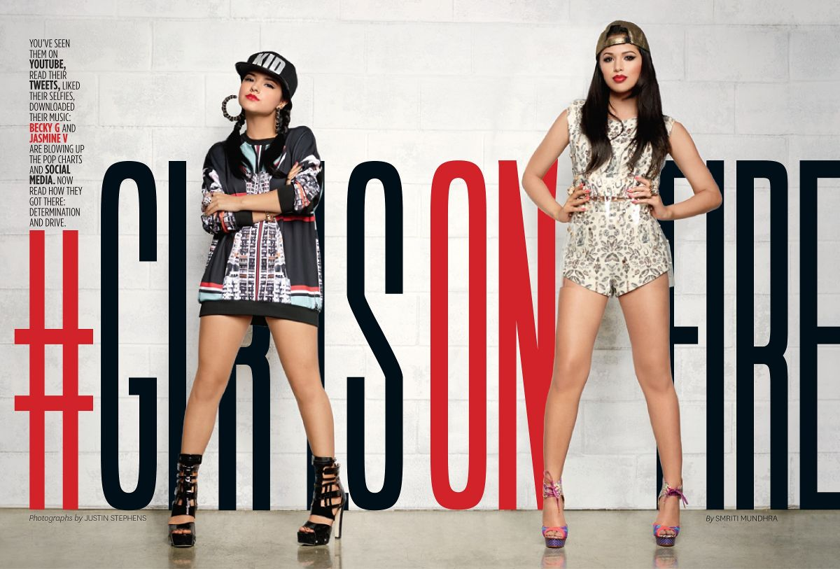 Is becky g and selena gomez related