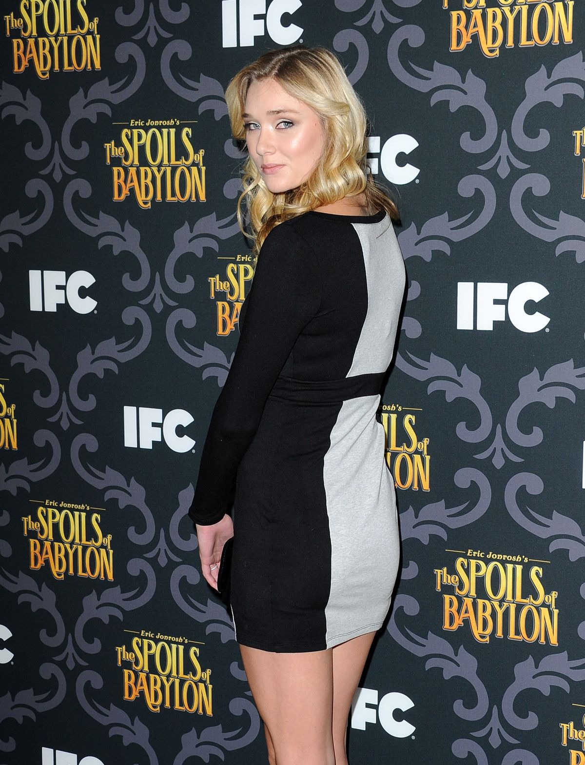 JELLY HOWIE at The Spoils of Babylon Premiere in Los Angeles