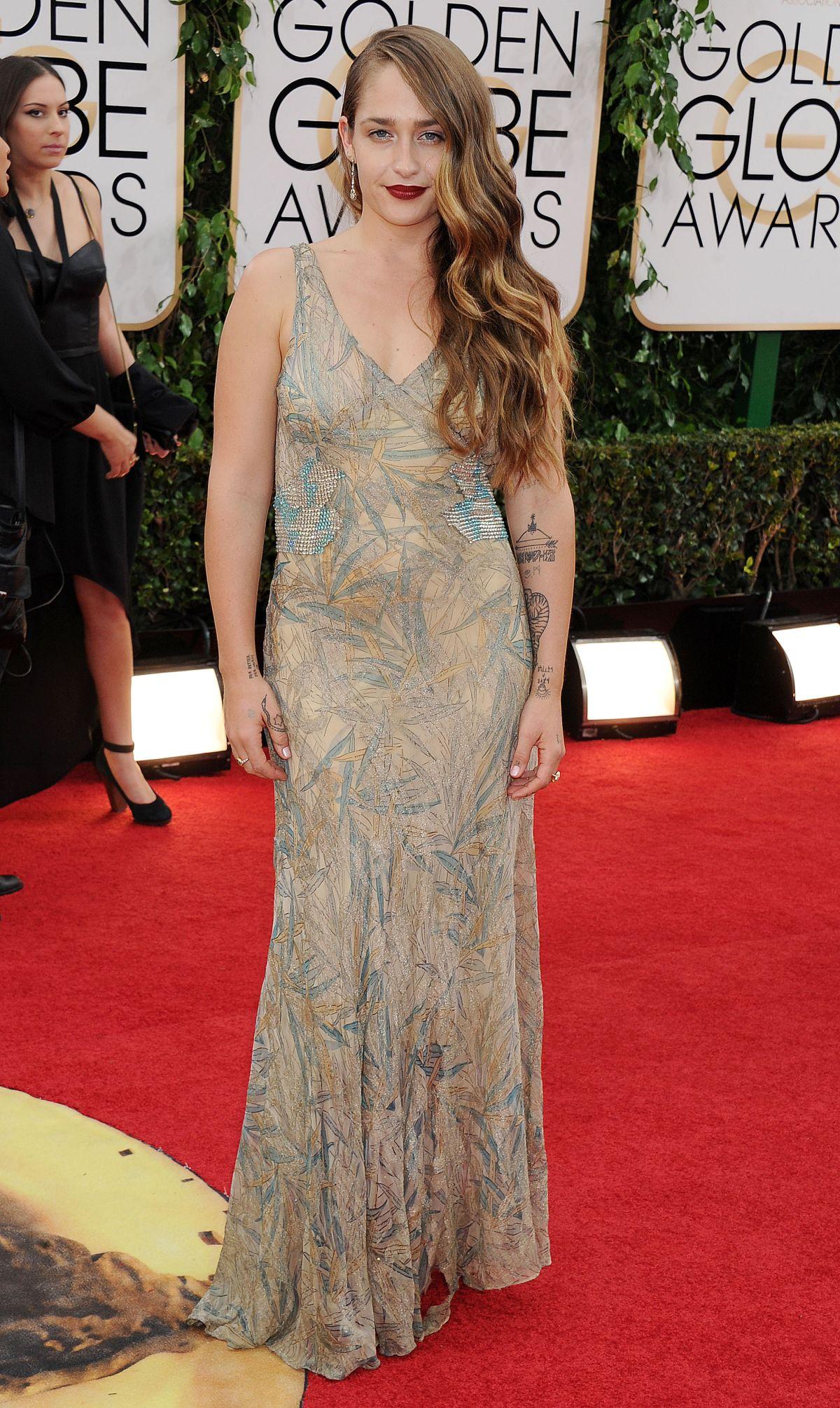JEMIMA KIRKE at 71st Annual Golden Globe Awards