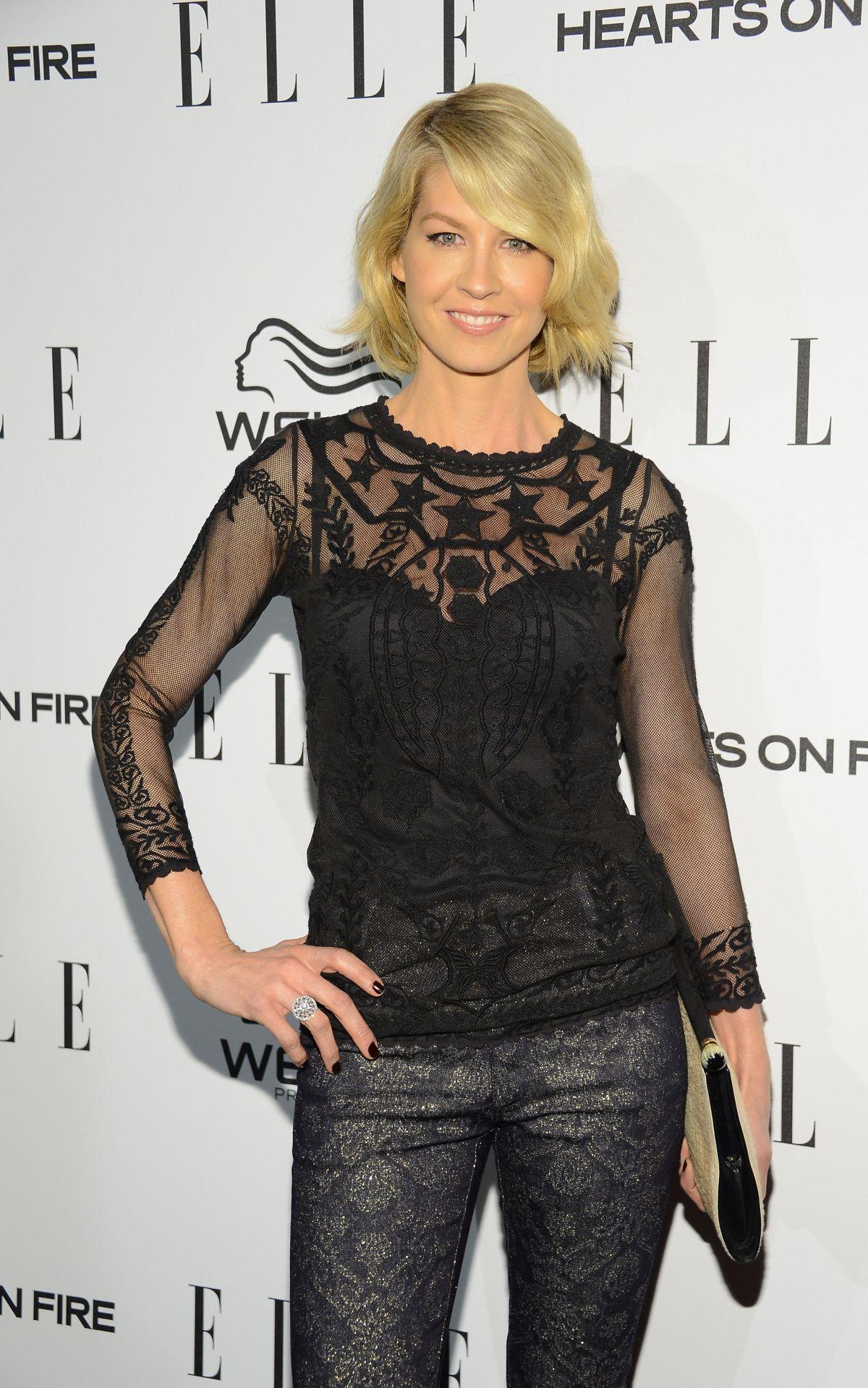 JENNA ELFMAN at Elle's Women in television Celebration