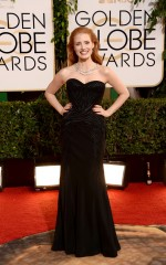 Jessica Chastain in Givenchy and Bulgari