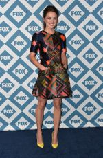 JESSICA STROUP at 2014 FOX All-star Party in Pasadena