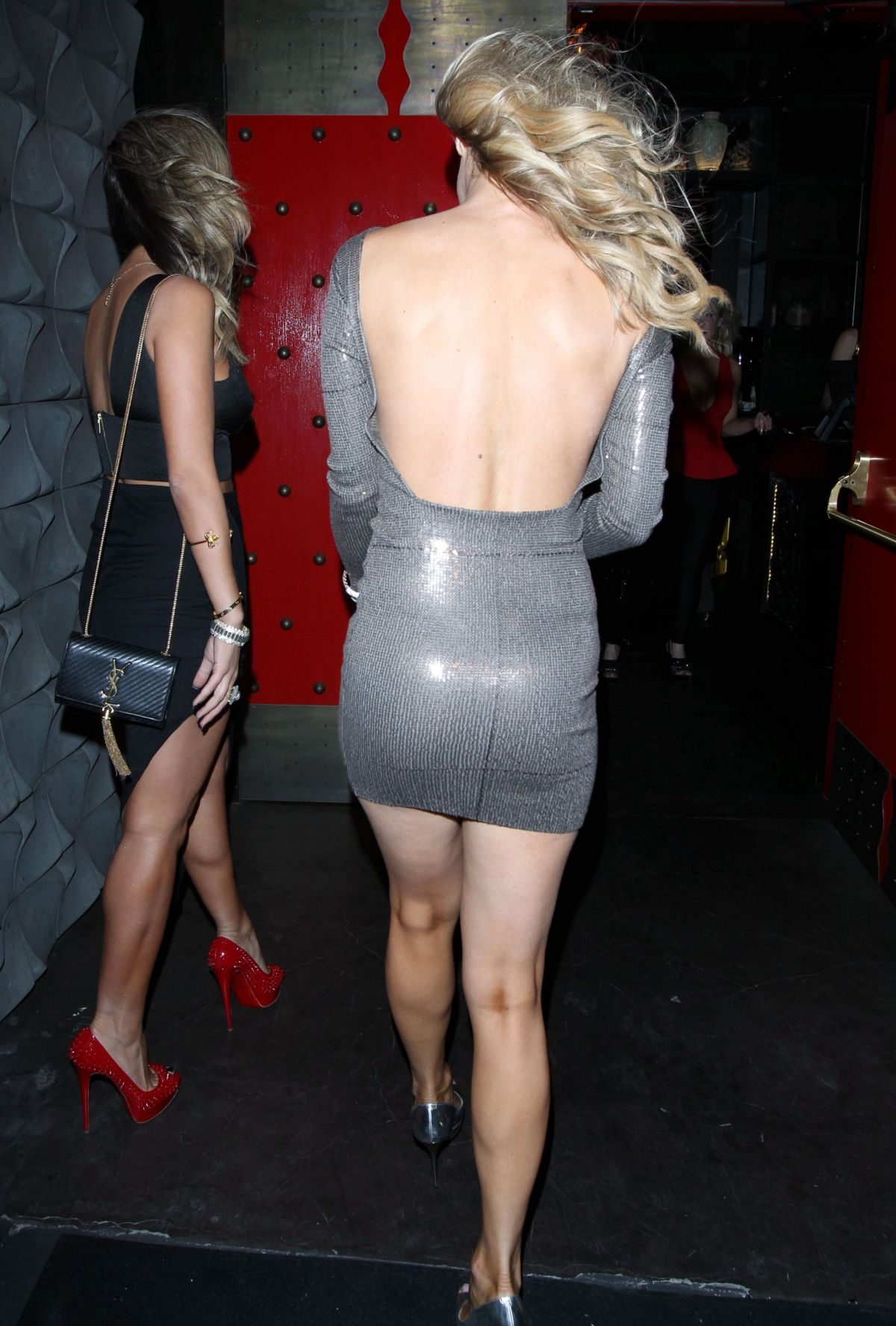 Joanna Krupa In Tight Mini Dress Out In West Hollywood