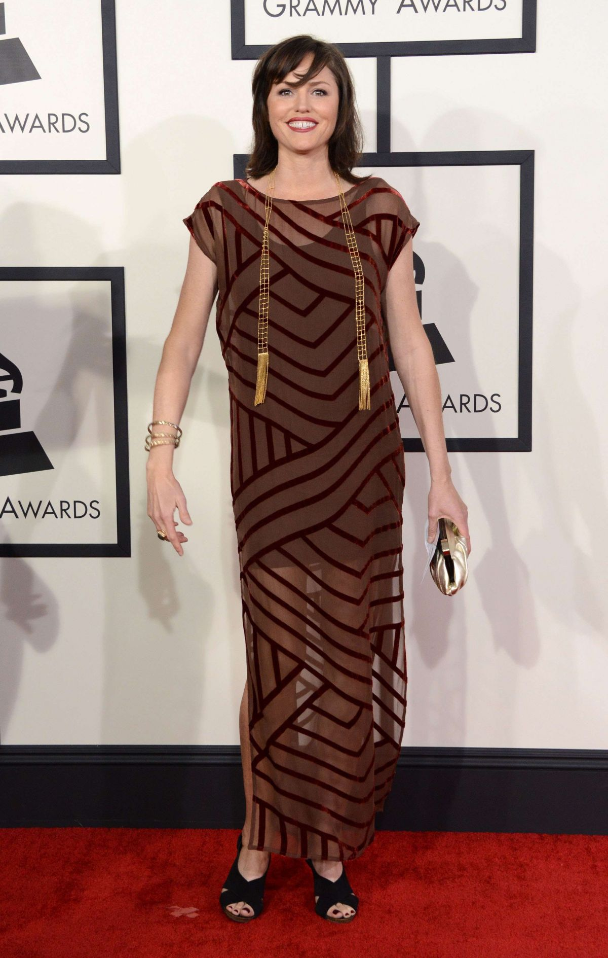 JORJA FOX at 2014 Grammy Awards in Los Angeles
