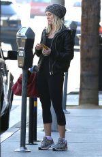 JULIANNE HOUGH in Leggings Out in Hollywood