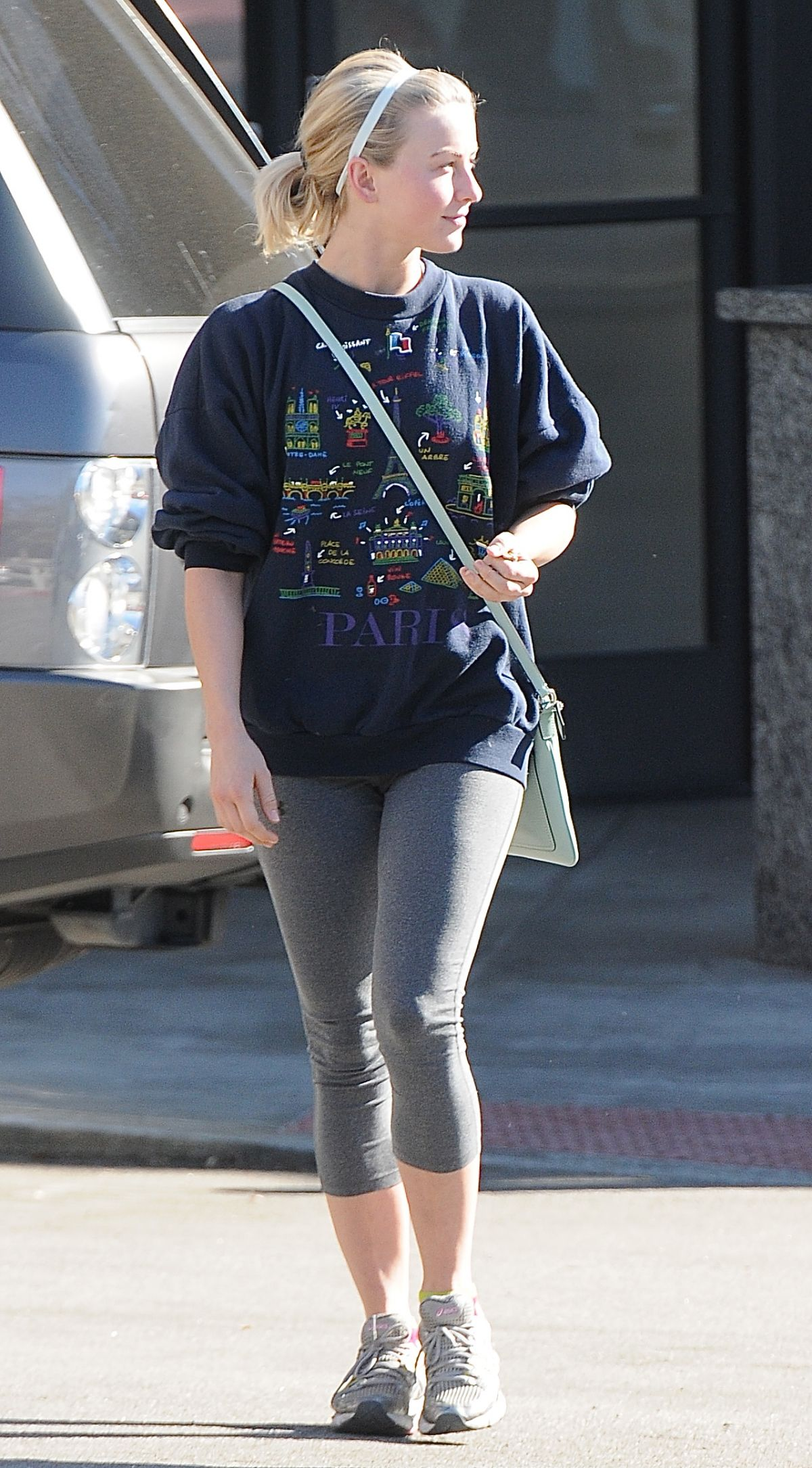 JULIANNE HOUGH in Tights Out in West Hollywood