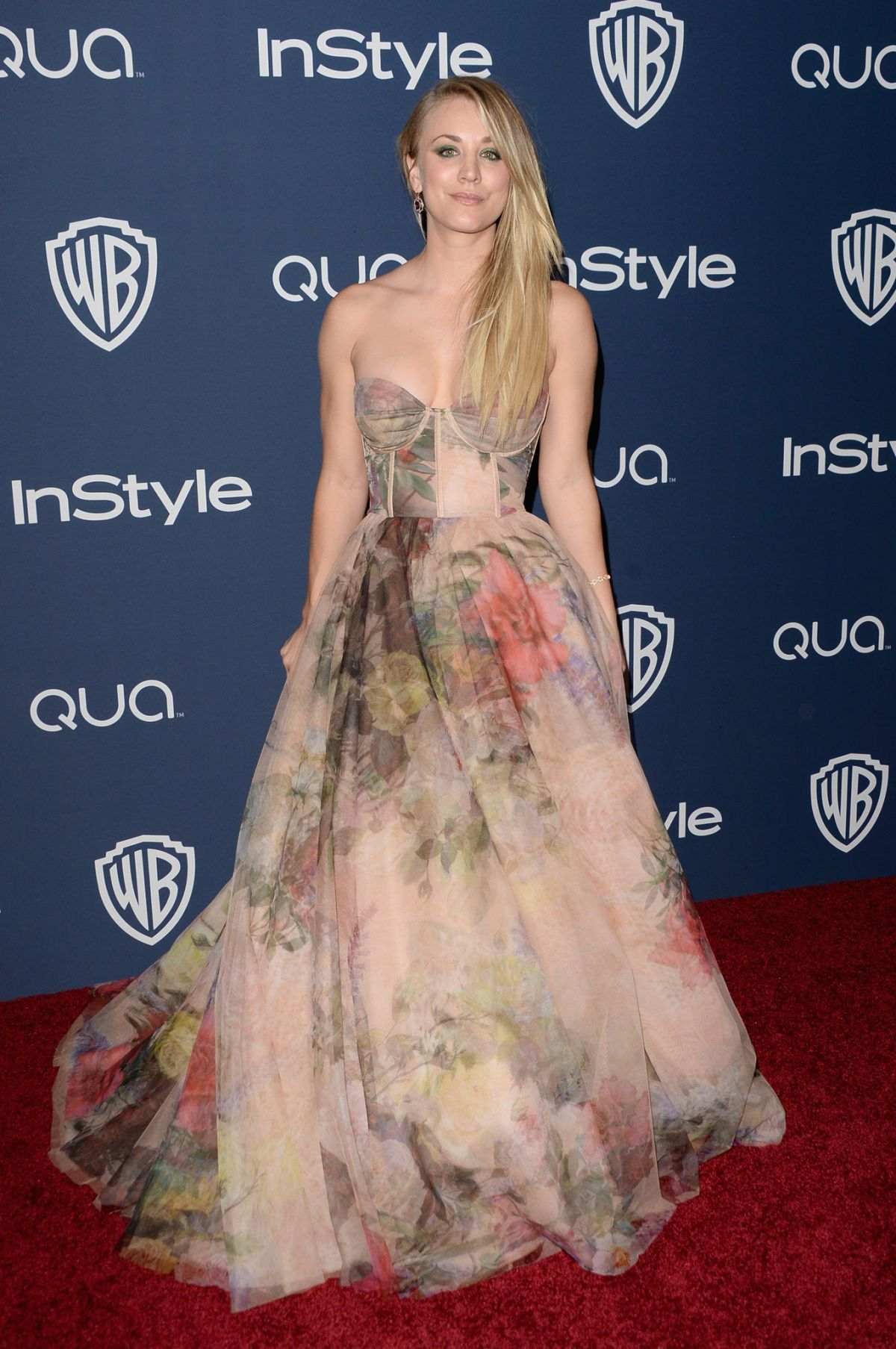 KALEY CUOCO at Instyle and Warner Bros. Golden Globes Afterparty