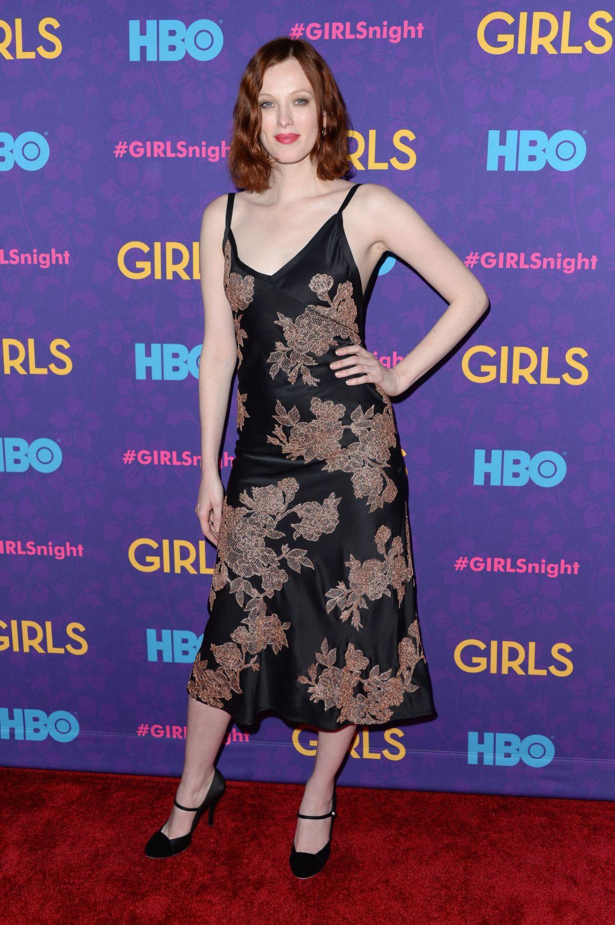 KAREN ELSON at Gorls Season 3 Premiere in New York