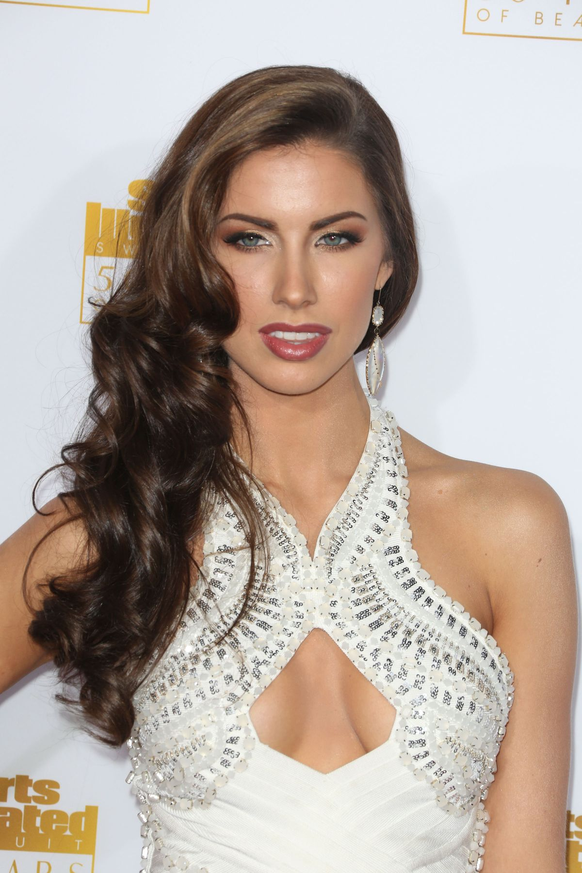 KATHERINE WEBB at SI Swimsuit Issue 50th Anniversary Celebration in Hollywood