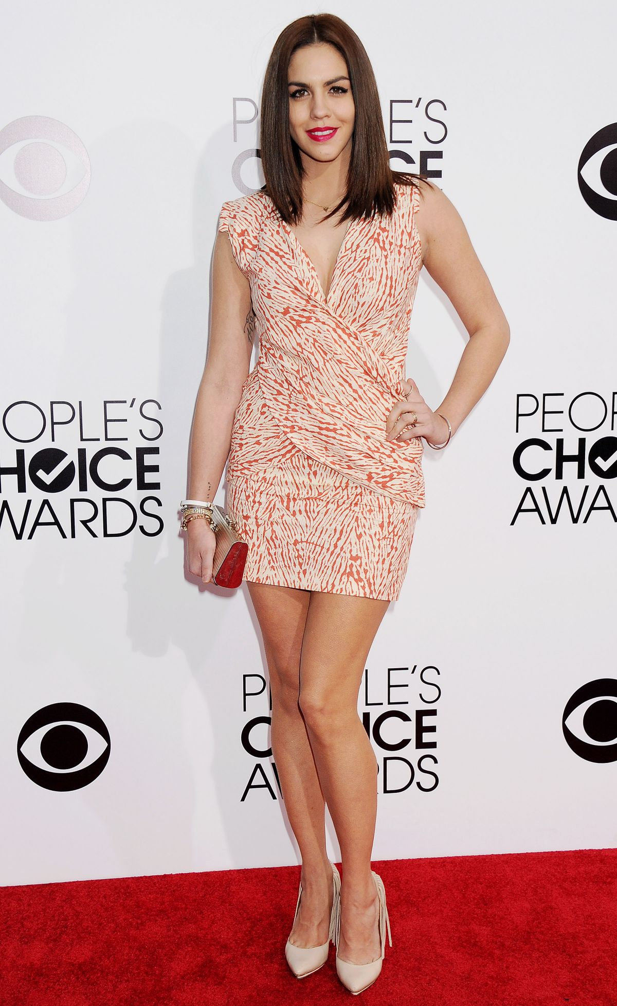 KATIE MALONEY at 40th Annual People's Choice Awards in Los Angeles