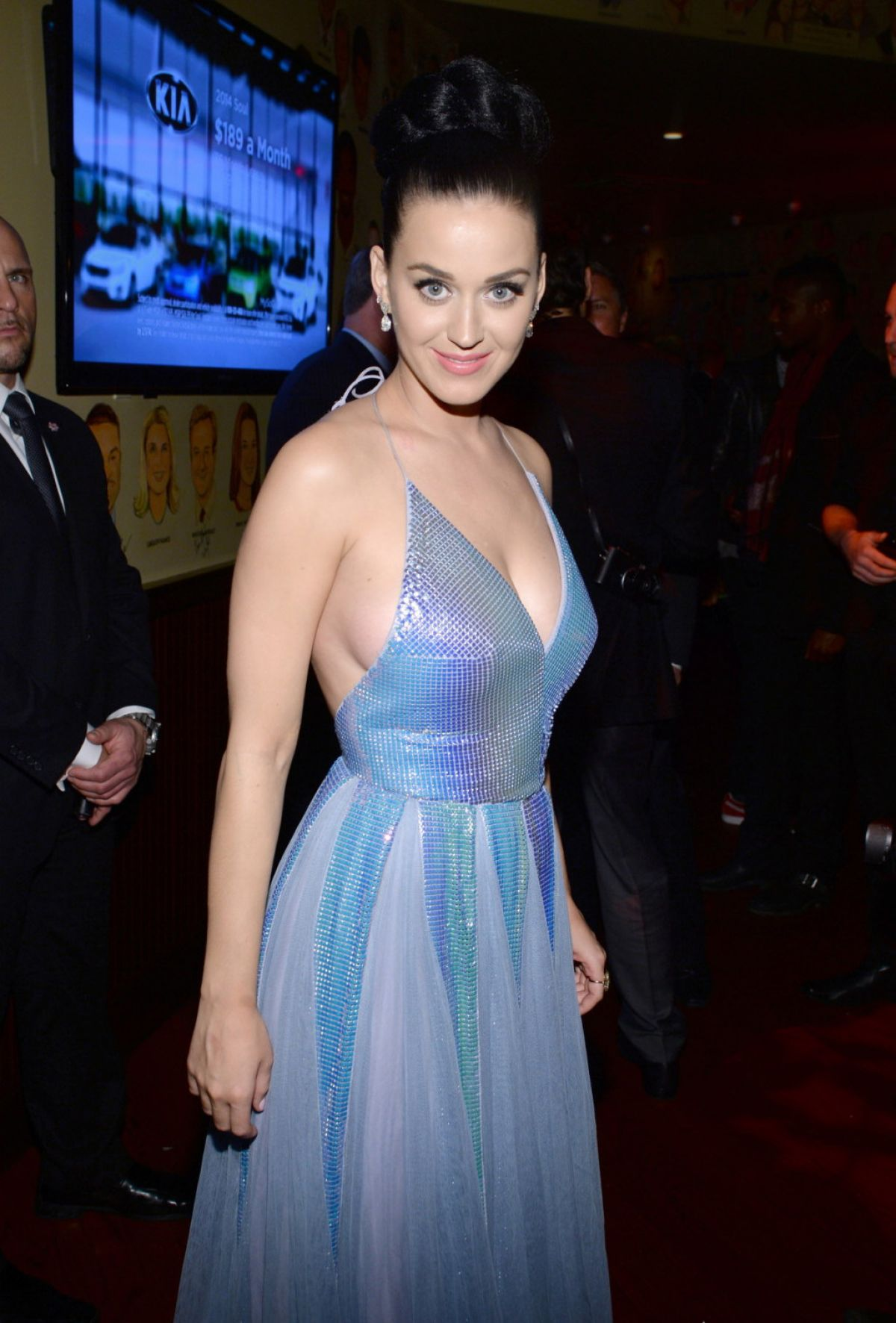 KATY PERRY at Sony Music Entertainment Post-Grammy ...
