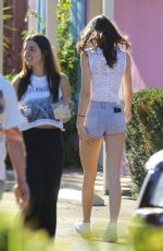 KENDALL JENNER in Short Shorts Out in Beverly Hills