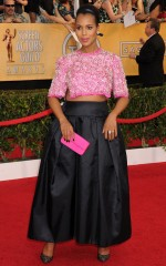 Kerry Washington at 20th Annual Screen Actors Guild Awards in Los Angeles