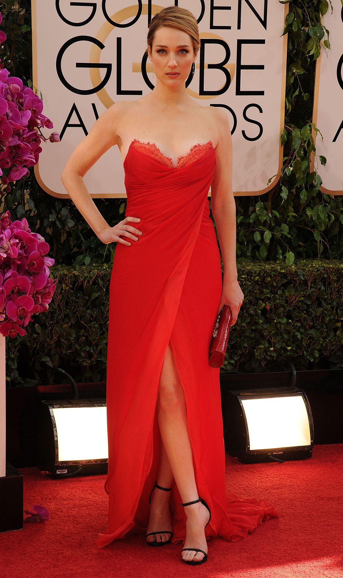 KRISTEN CONNOLLY at 71st Annual Golden Globe Awards