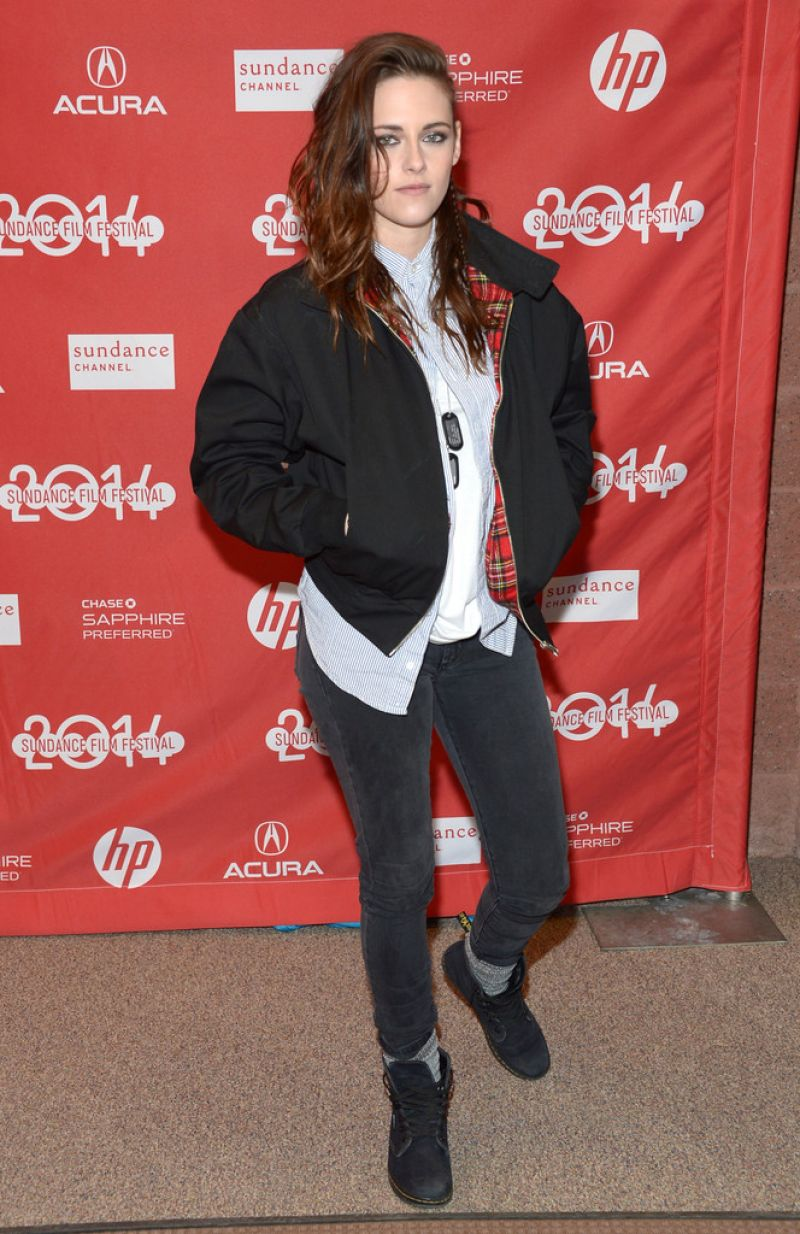 KRISTEN STEWART at Camp X-Ray Premiere at 2014 Sundance Film Festival  [الأرشيف] - منتدى شكو ماكو