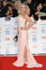 KRISTINA RIHANOFF at 2014 National Television Awards in London