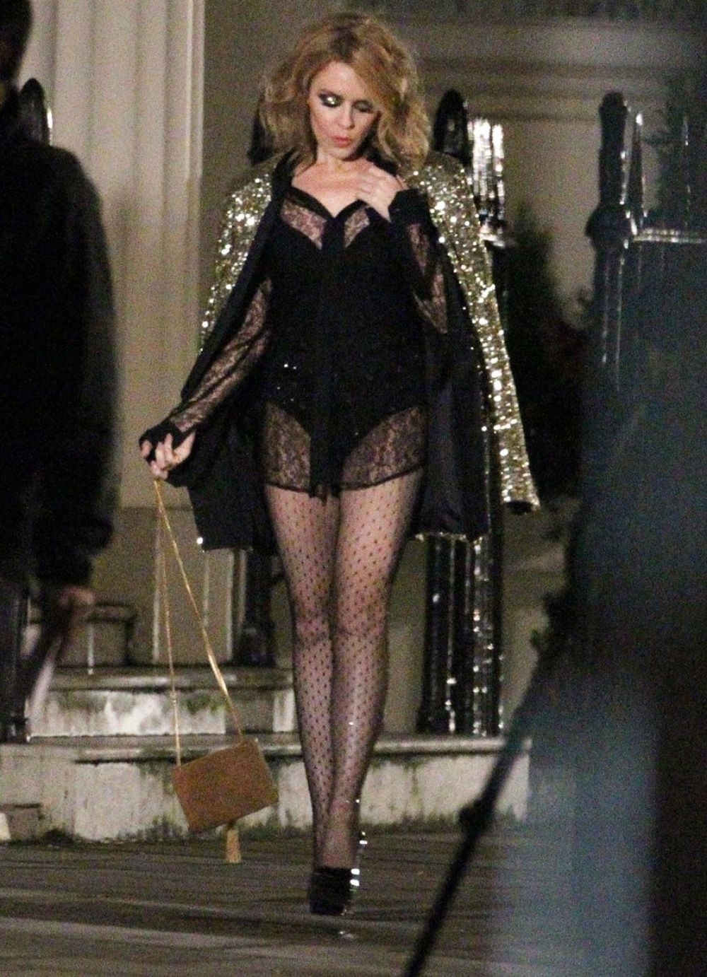 KYLIE MINOGUE at Into the Blue Video Set