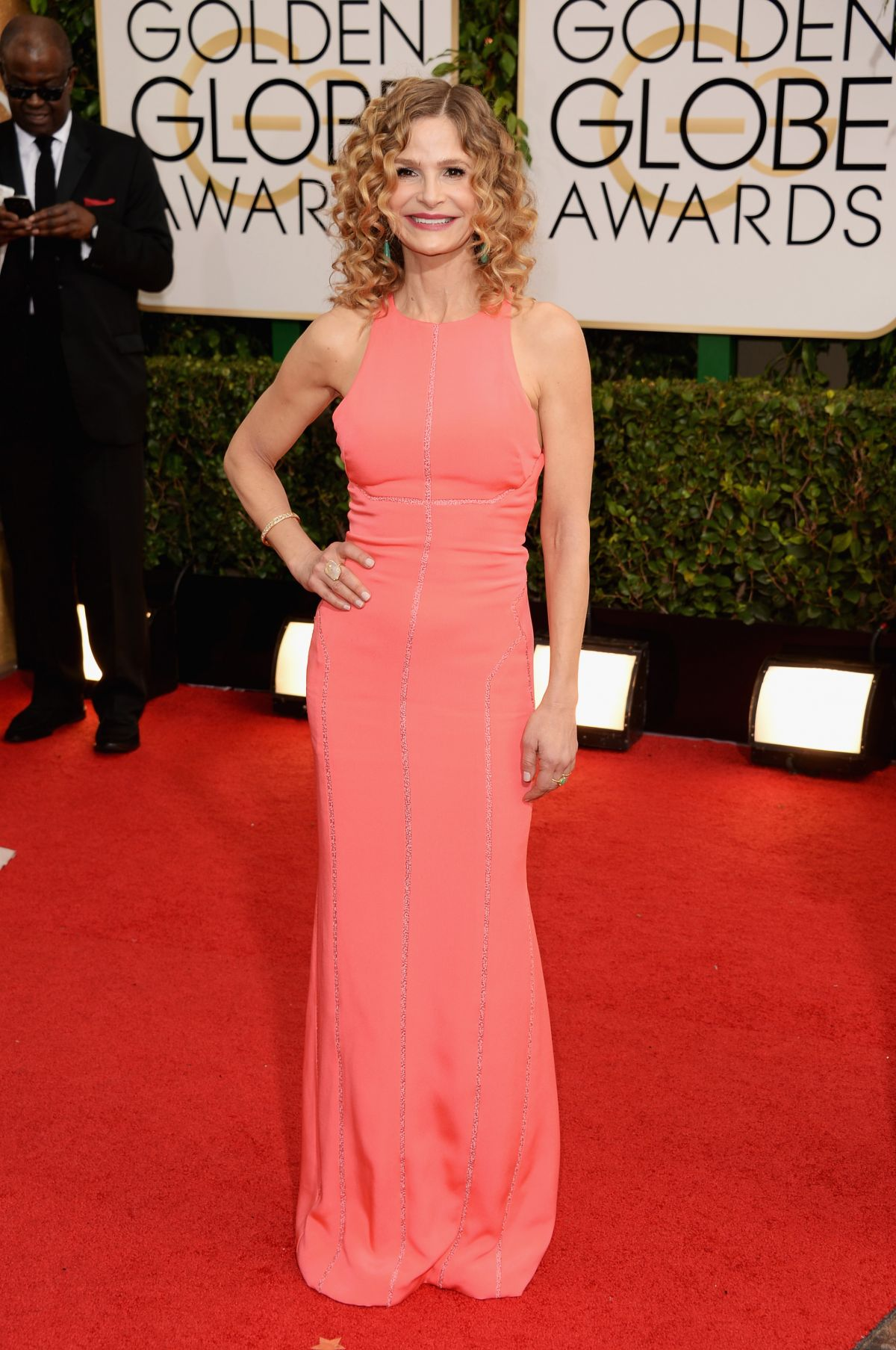 KYRA SEDGWICK  at 71st Annual Golden Globe Awards