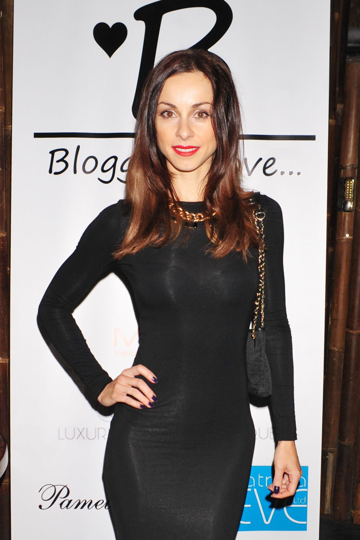 LINDSAY ARMAOU at The Bloggers Love Secret Garden Event in London