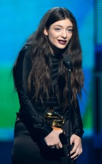 Lorde at 2014 Grammy Awards in Los Angeles