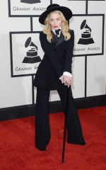 Madonna at 2014 Grammy Awards in Los Angeles