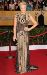Malin Akerman at 20th Annual Screen Actors Guild Awards in Los Angeles