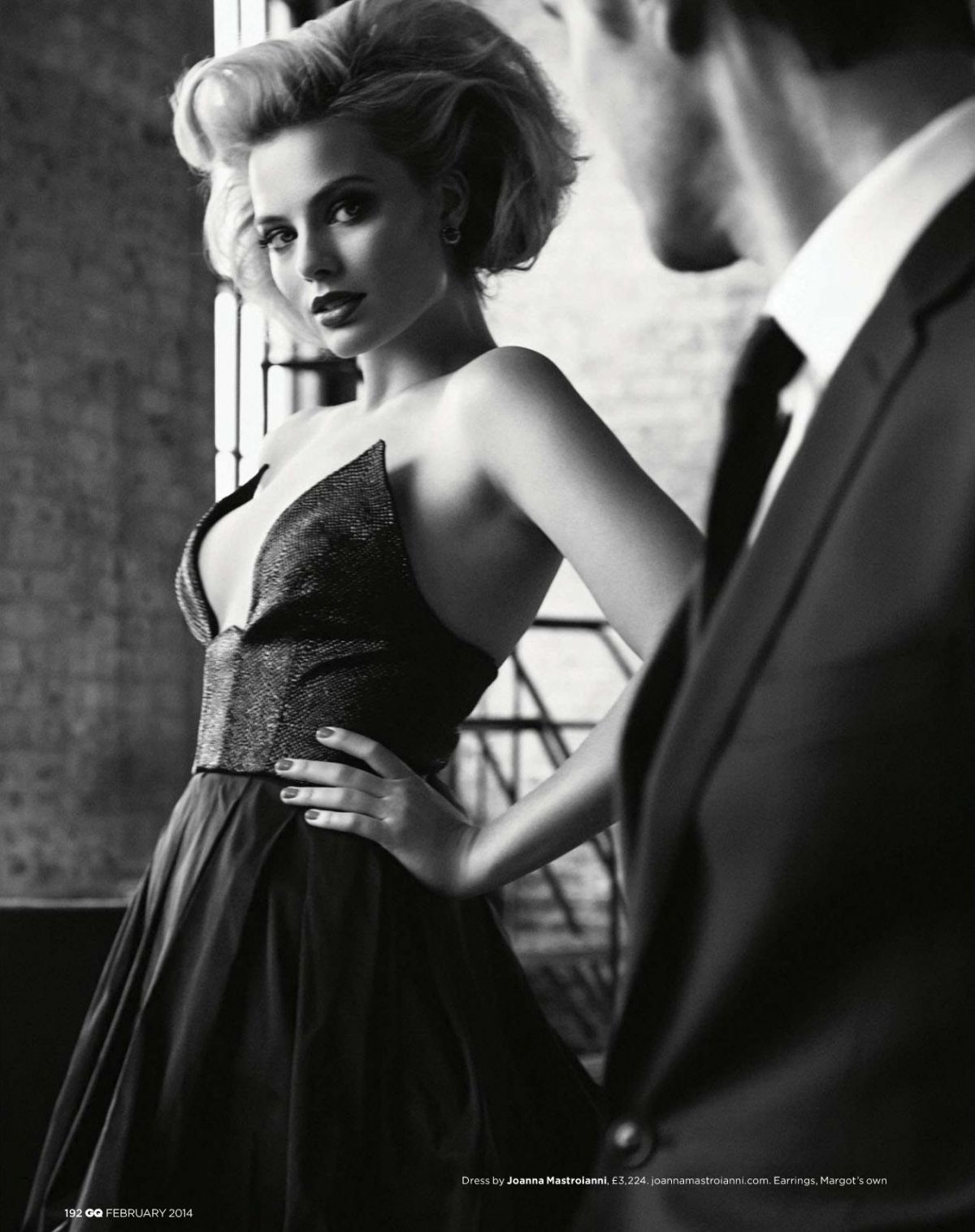 MARGOT ROBBIE in HQ Magazine, UK February 2014 Issue