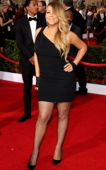 Mariah Carey at 20th Annual Screen Actors Guild Awards in Los Angeles