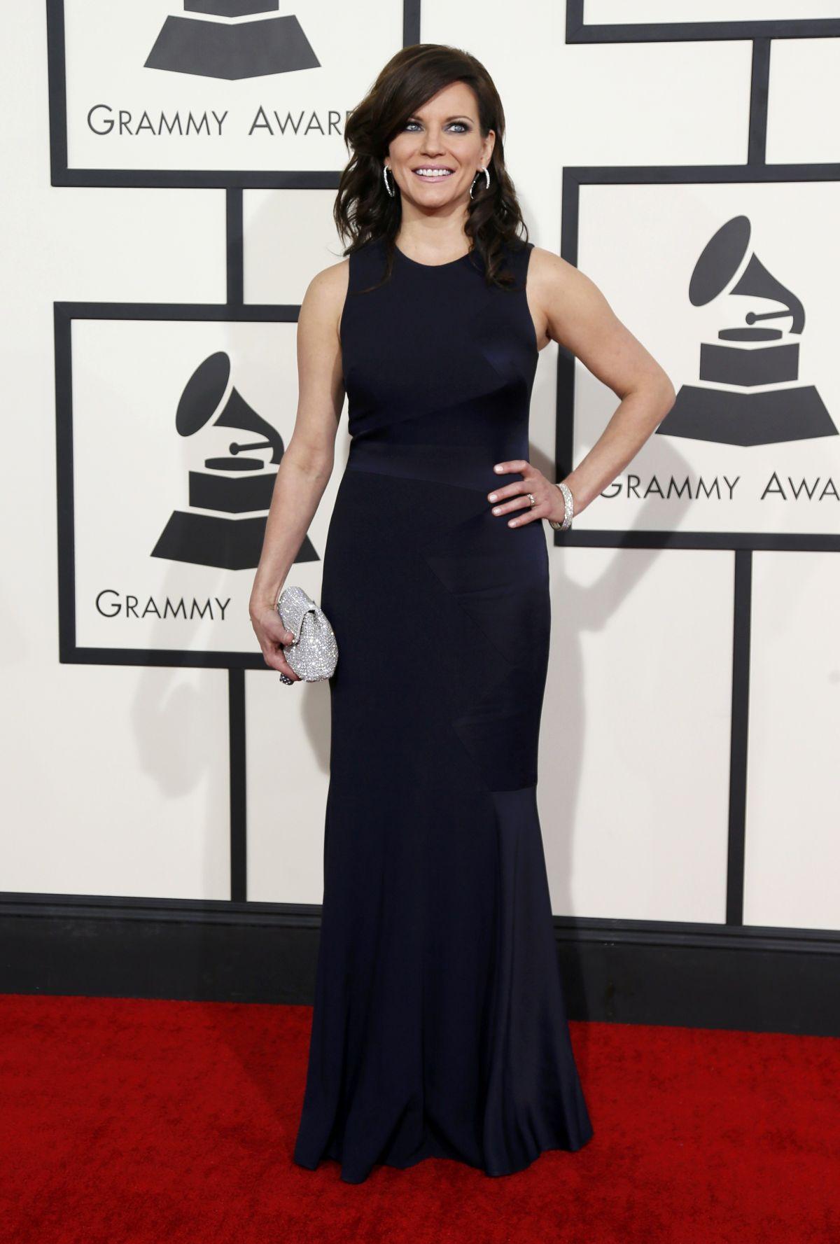 MARTINA MCBRIDE at 2014 Grammy Awards in Los Angeles