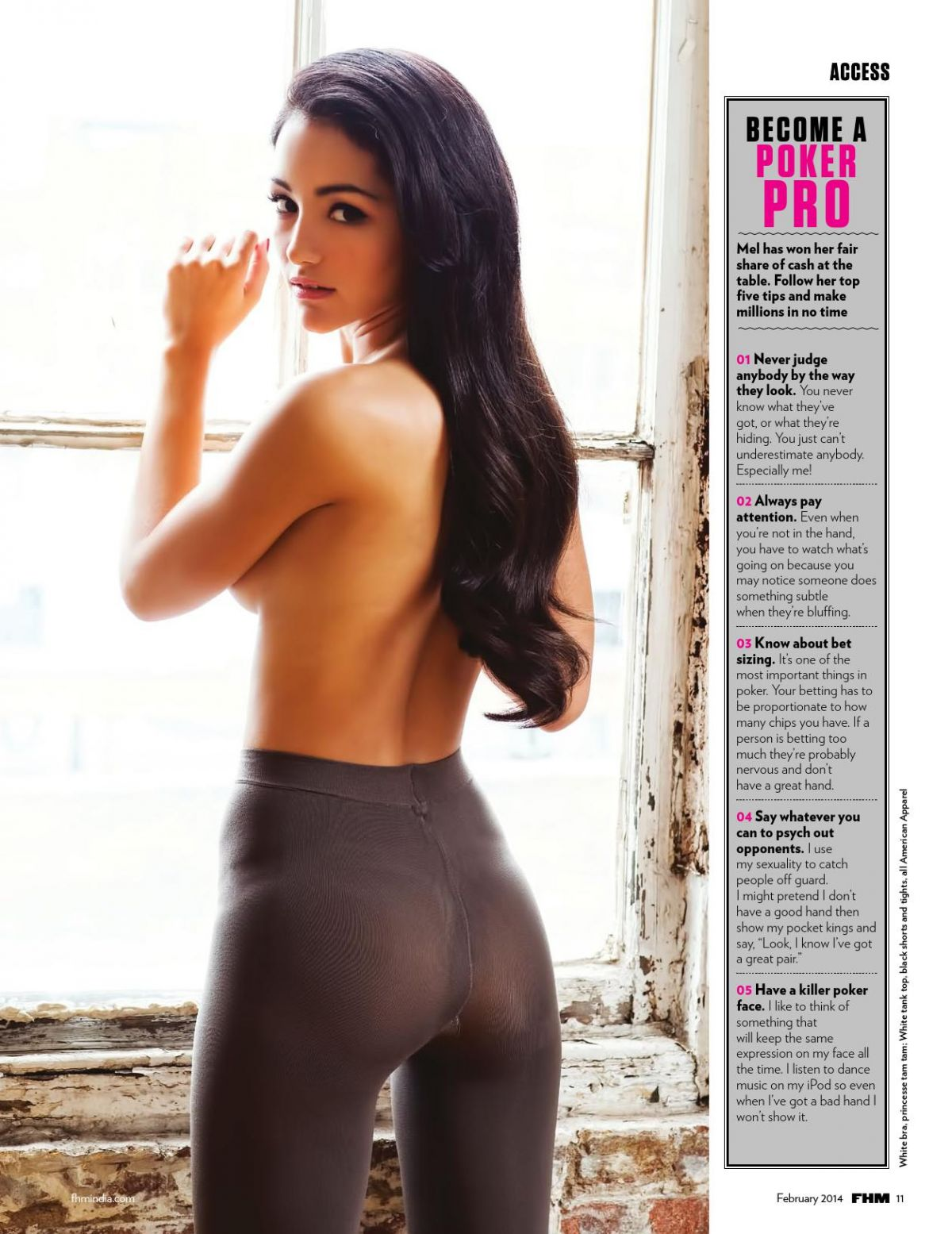 MELANIE IGLESISAS in FHM Magazine, India February 2014 ...