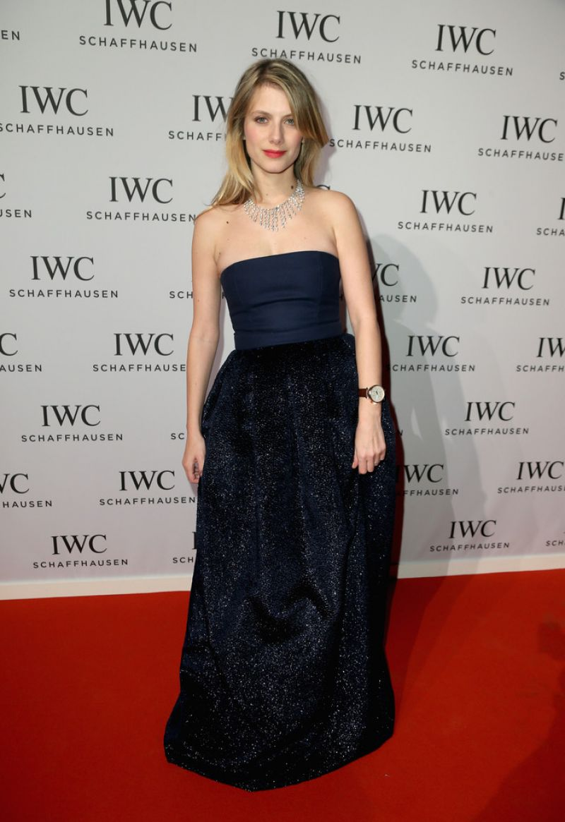 MELANIE LAURENT at 2014 IWC the Wave Gala in Geneva
