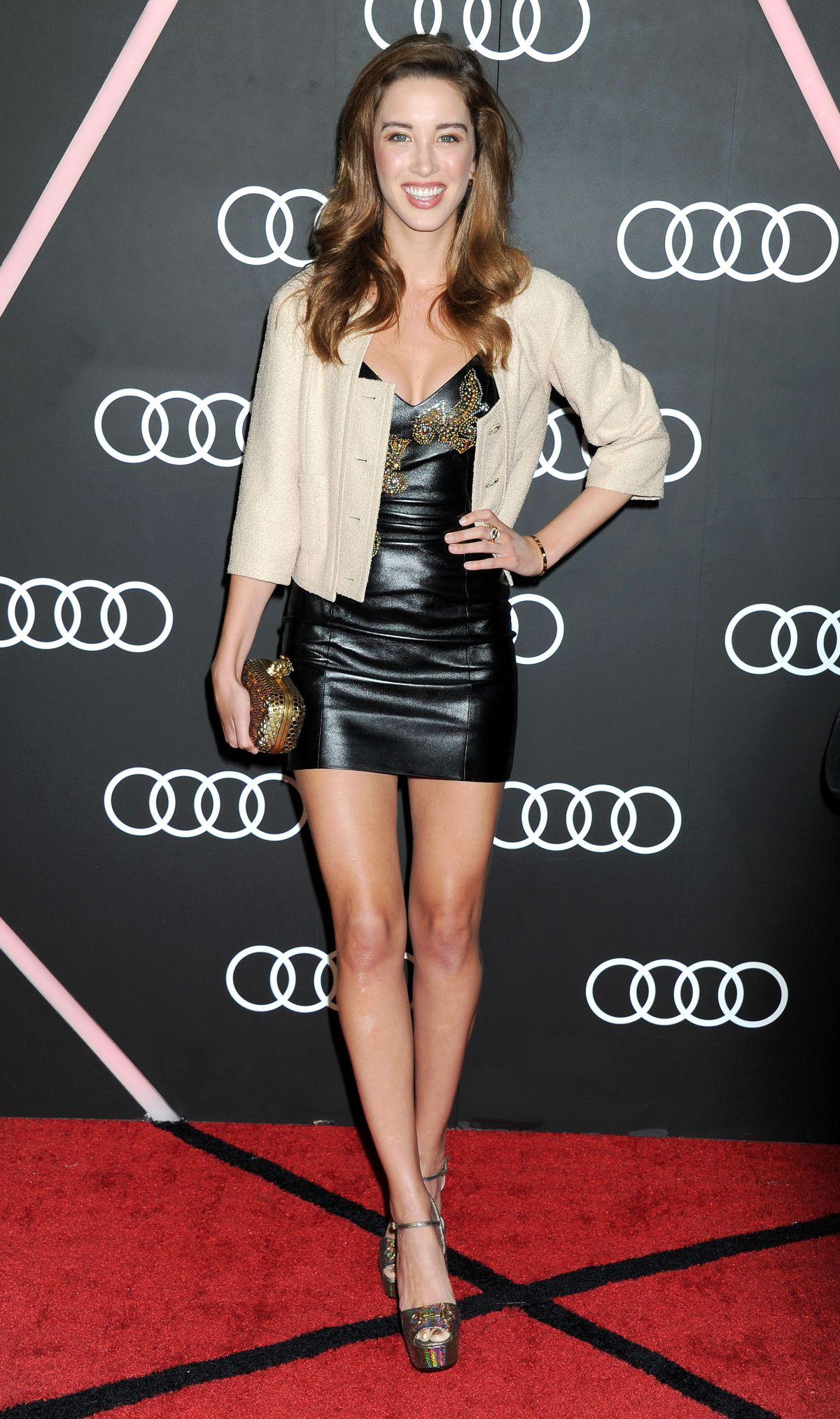 MELISSA BOLONA at Audi Celebrates Golden Globes Weekend in Beverly Hills