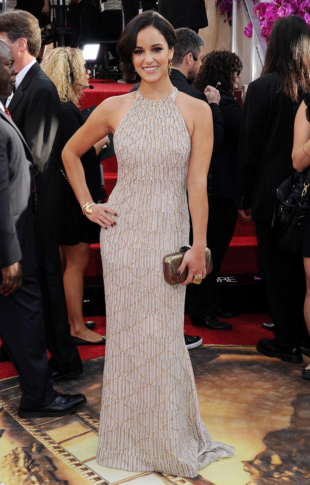 MELISSA FUMERO at 71st Annual Golden Globe Awards