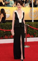 Michelle Dockery at 20th Annual Screen Actors Guild Awards in Los Angeles