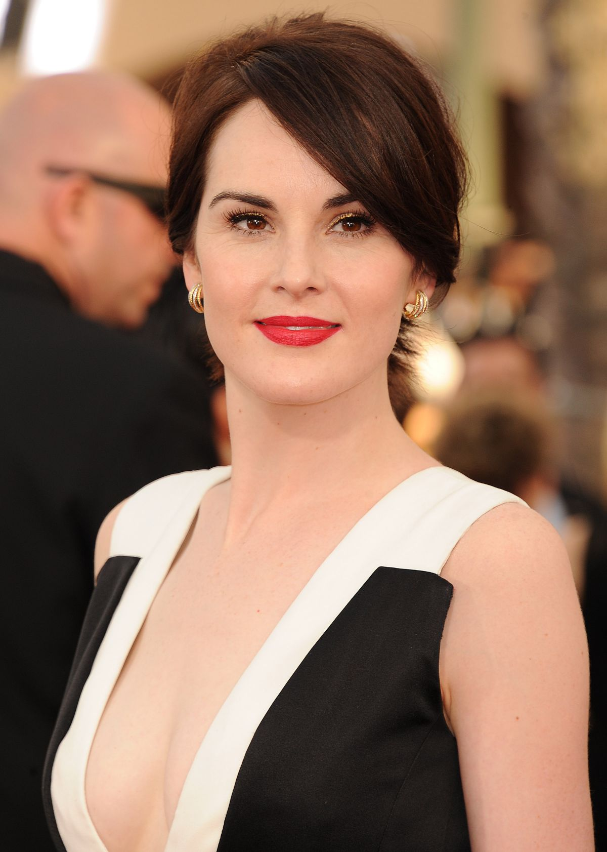 MICHELLE DOCKERY at 2014 SAG Awards in Los Angeles