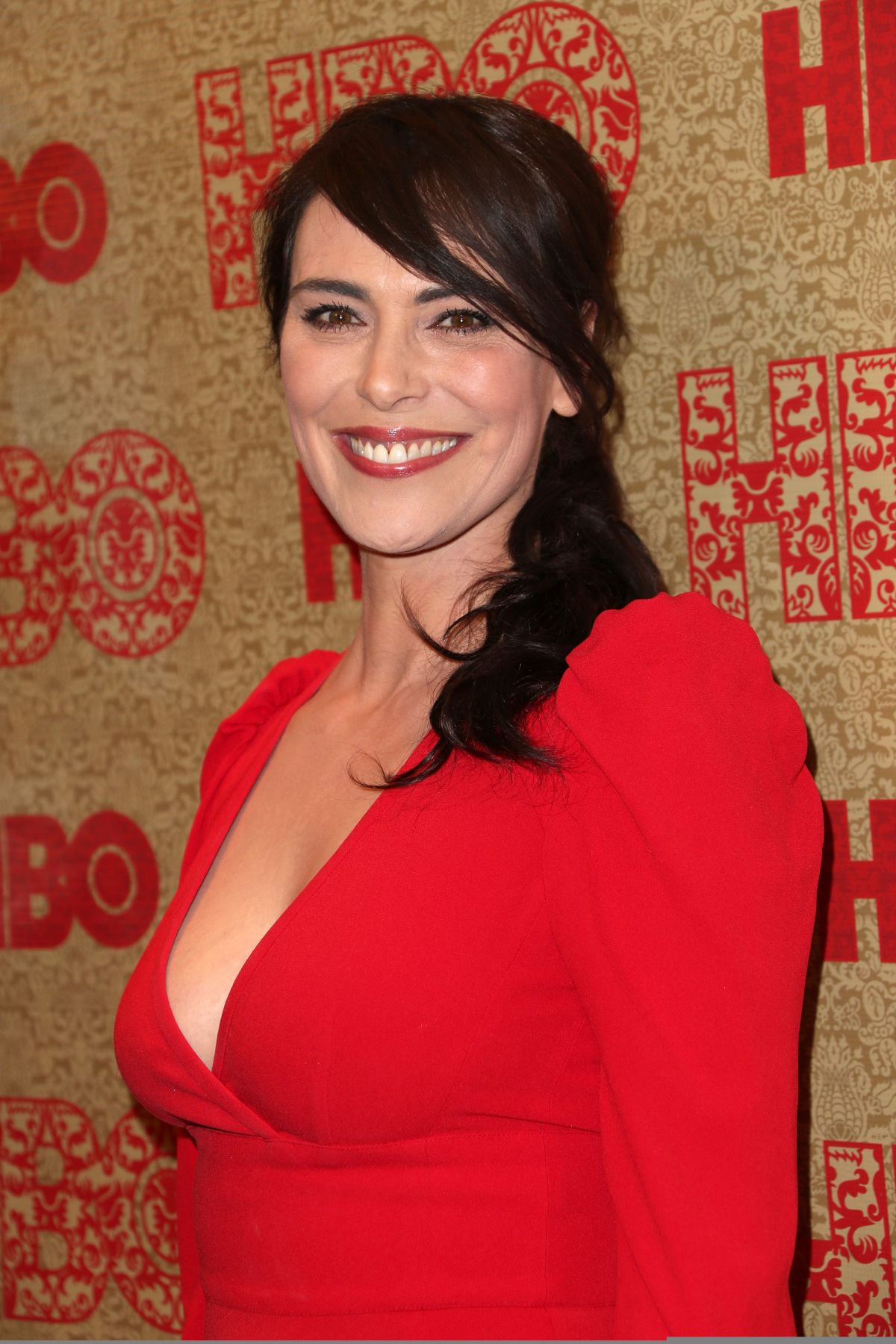 MICHELLE FORBES at HBO Golden Globe After Party